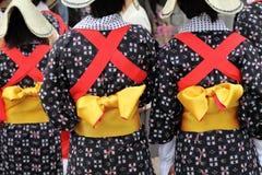 传统的和服 图库摄影