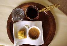 传统的咖啡 免版税库存图片