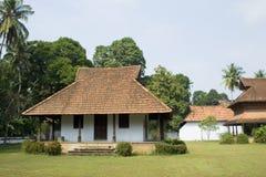传统的宫殿 免版税库存照片