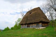 传统的小屋 免版税库存照片