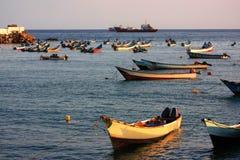 传统的小船 免版税图库摄影