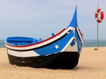 传统的小船 免版税库存照片