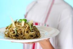 传统的意大利面食 免版税库存图片