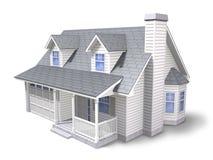 传统的房子 免版税库存图片