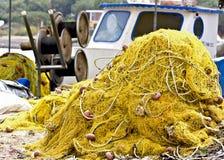 传统的捕鱼网 库存图片