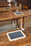 传统的教室 免版税库存图片