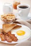 传统的早餐 库存照片