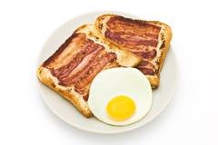 传统的早餐 免版税库存图片