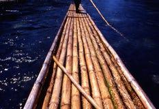 传统的木筏 图库摄影