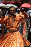 传统的舞蹈演员 库存照片
