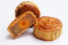 传统的mooncakes 库存图片