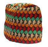 传统盖帽的尼泊尔 免版税库存照片
