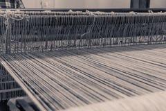 传统织布机细节在瓦哈卡墨西哥 库存照片