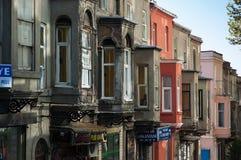 传统结构在伊斯坦布尔 图库摄影