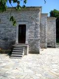 传统结构希腊的山 库存图片
