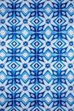 传统给上釉的葡萄牙的瓦片 免版税库存照片