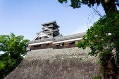 传统美丽的城堡的japanase 免版税库存照片