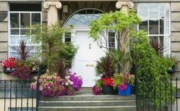 传统美丽的房子 免版税库存照片
