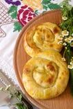 传统自创罗马尼亚和摩尔多瓦的饼- saralie 图库摄影