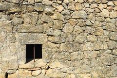 传统花岗岩砌石建筑学 库存图片