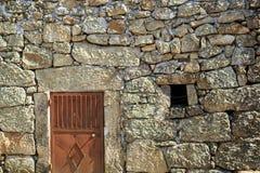 传统花岗岩砌石建筑学 免版税库存图片