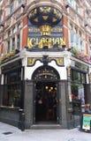 传统英国客栈Clachan在中央伦敦 免版税图库摄影