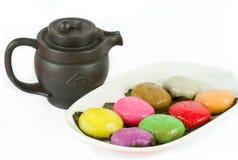 传统草龟蛋糕 免版税库存图片