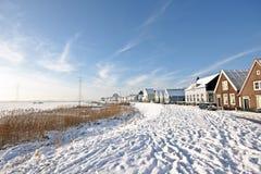 传统荷兰语村庄Durgerdam在荷兰 免版税库存图片