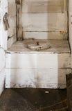 传统荷兰语的洗手间 免版税库存照片