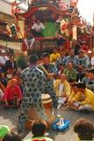 传统著名节日的matsuri 库存图片