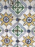 传统葡萄牙azulejo 免版税库存照片