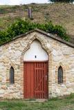 传统葡萄酒库, Vrbice, Breclav区,南摩拉维亚,捷克 库存图片