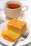 传统蛋糕印度尼西亚的层 免版税库存图片