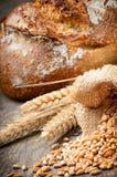 传统被烘烤的面包新近地 免版税库存图片