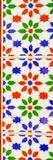 传统装饰西班牙装饰瓦片,原始的cerami 库存图片