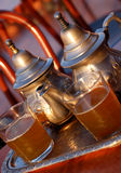 传统造币厂的茶 免版税图库摄影
