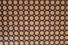 传统铺磁砖的最高限额背景 免版税库存照片