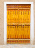 传统阿拉伯的门道入口 免版税库存图片