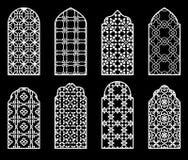传统阿拉伯窗口 库存照片