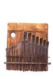 传统非洲仪器kalimba的音乐 库存图片