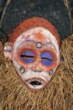 传统非洲屏蔽 库存图片