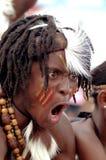 传统非洲的人 免版税图库摄影