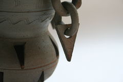 传统韩文的杯子 免版税库存照片