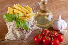 传统食品成分详细资料 免版税库存照片