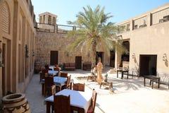 传统餐馆迪拜 库存图片