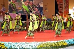 传统马来的舞蹈 免版税图库摄影