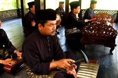 传统马来的音乐 免版税库存图片
