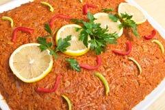 传统鱼希腊的样式 免版税库存照片
