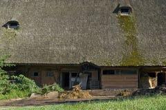 传统黑森林农庄 免版税图库摄影