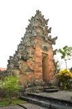 传统巴厘语寺庙 免版税库存图片